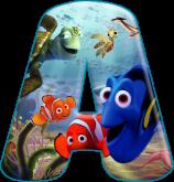 Alfabeto - Procurando Nemo 2 - PNG