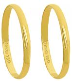 A22 - alianças de ouro 18k, tradicional - Marca cpl