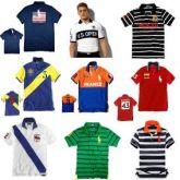 Camisa Polo Lacoste Tommy Ralph Lauren Hollister kit 20 pçs