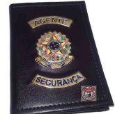 Carteira Porta Funcional Agente De Segurança