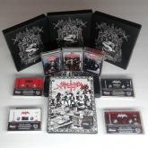 SARCOFAGO - Die... Hard!!! - TAPE BOXET (3x Tapes, Translucent red Tape)