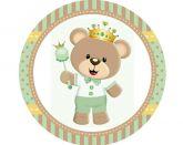 Papel Arroz Príncipe Urso Redondo 006 1un