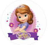 Papel Arroz Princesa Sophia Redondo 007 1un