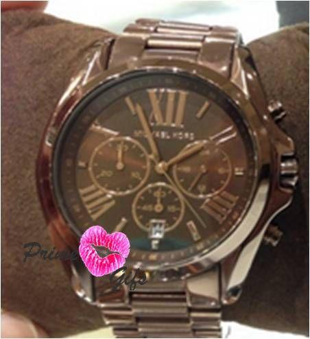 Relógio Michael Kors Mk5628 cor Chocolate - Prime Gifs 53bd155730