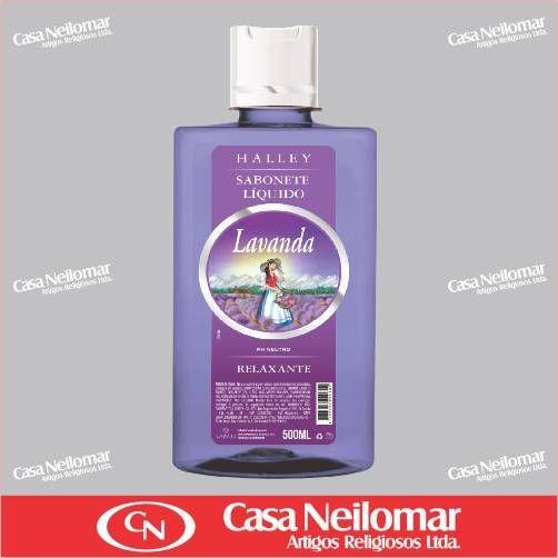 059105 - Sabonete Líquido Lavanda Halley - 500 ml