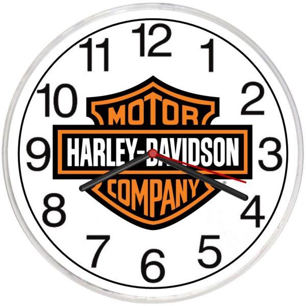 Relógio De Parede Harley-Davidson