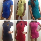 12 Vestidos Polo varias marcas - Frete Grátis