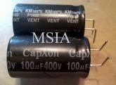ELETROLÍTICO 100X400 100ufx400v 105ºC 18X32mm CAPXON
