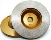 Disco de Desbaste e Polimento continuo  Rosca M14 Grão 120