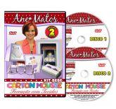 DVD Carton Mousse e Forração com Tecidos