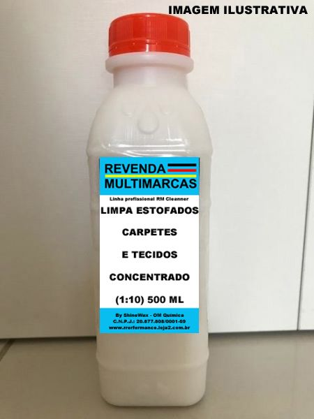 Limpa Estofados, Carpetes e Tecidos - 500 ML Shine Wax - Cód. RM270