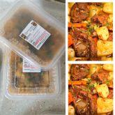 Carne Cozida de BOI com Legumes