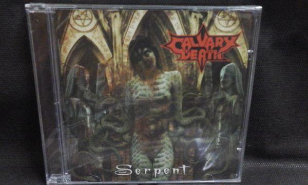CD - Calvary Death - Serpent