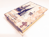 Livro Caixa Madeira 26cm