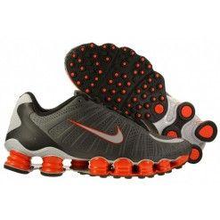 Nike Shox Tlx 12 Molas Cinza e Vermelho (ORIGINAL) Tenis ... 556fab9856904