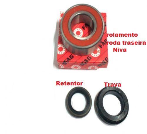 Rolamento Roda Traseira Lada NIva Kit c/ 3 peças (Novo) Ref.0920