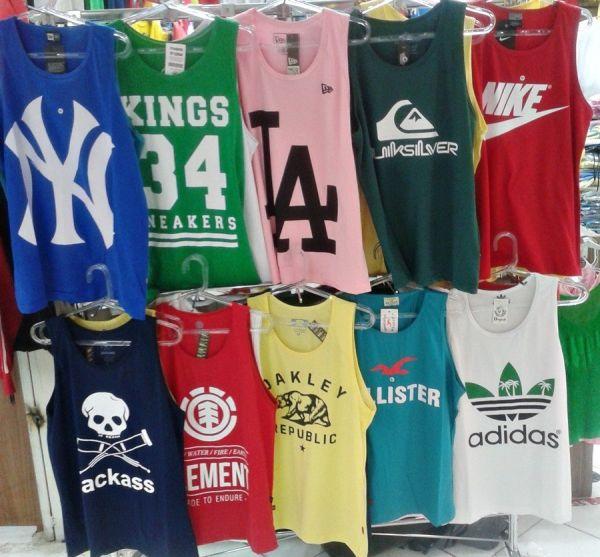 7549e2341afa4 Kit 20 fio 30 .1 Camisetas Regatas Surf Varias Marcas Frete Gráti ...