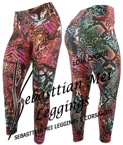Calças Leggings Estampadas Suplex  5cb7363e1070e