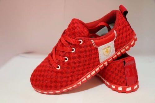 9306424836f Tênis Ferrari Vermelho - Outlet Ser Chic