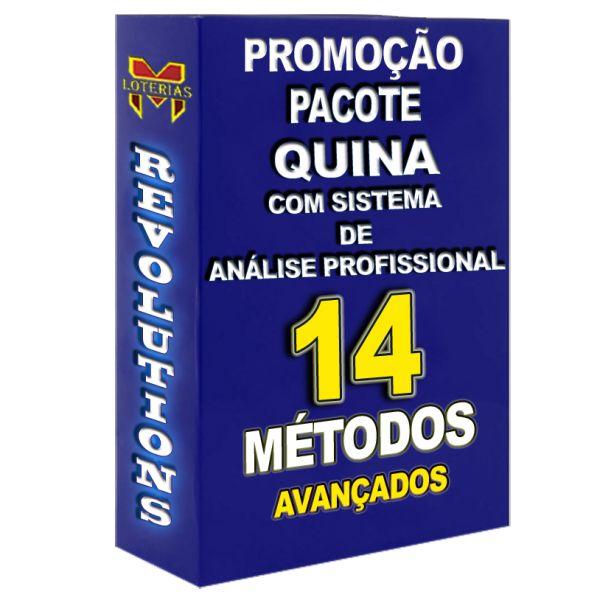 PROMOÇÃO QUINA, todos os 14 métodos que disponho por um preço especial.