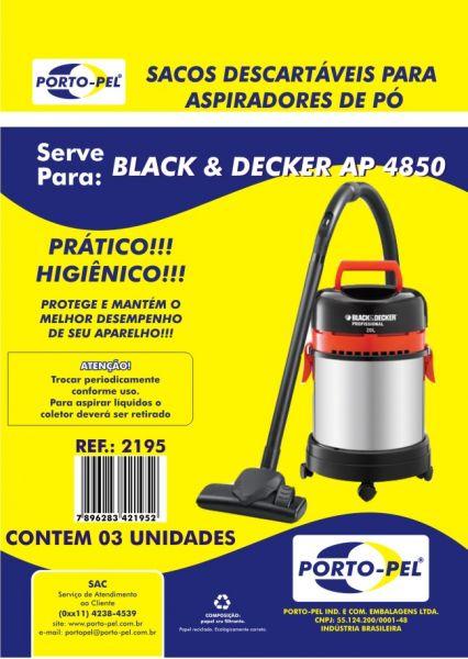 COD. 2195 Black Decker Ap 4850