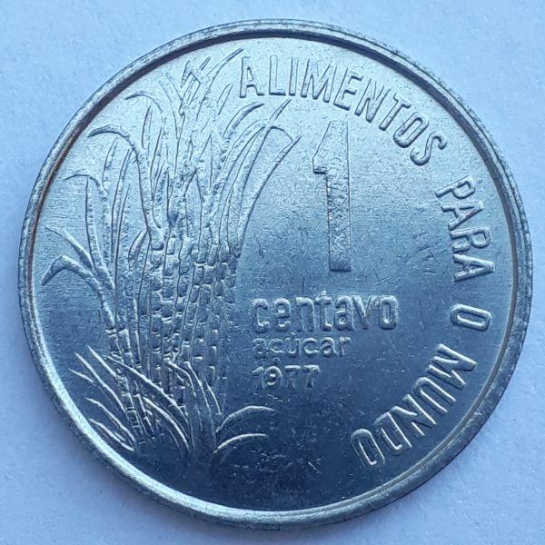 1 Centavo 1977 FAO SOB/FC