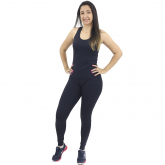 Regata Nadador Sprint Térmica Lisa Preto - Emana
