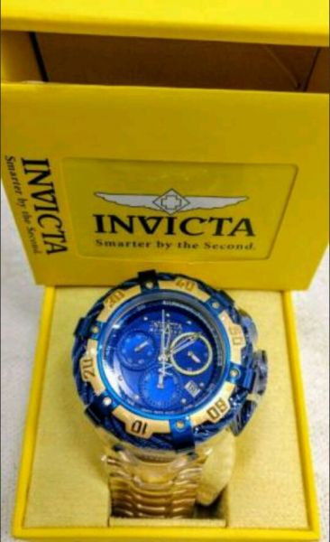 93f2c5f0d71 Relógio Invicta Azul Funcional Importado - Outlet Ser Chic