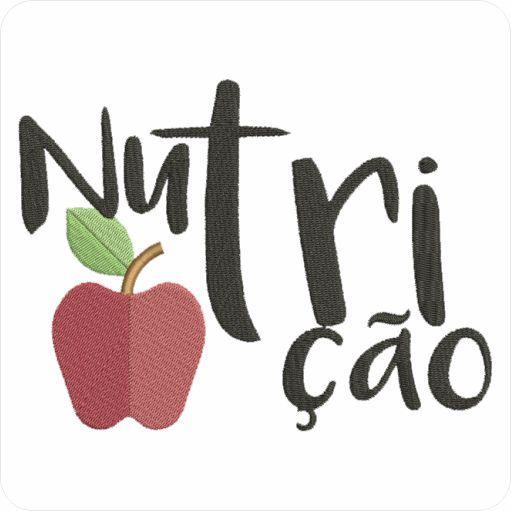 Simbolo Nutrição matriz para maquina de bordar