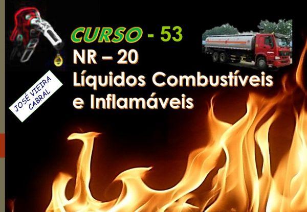 53. Nova NR-20 Líquidos Combustíveis e Inflamáveis
