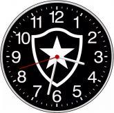 Relógio Parede Botafogo RJ Preto