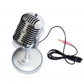 Microfone Retrô Clássico