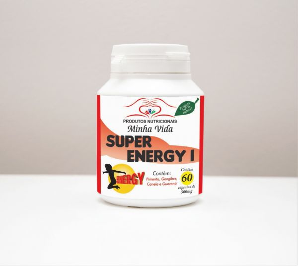 SUPER ENERGY I-  C/ 60 Cápsulas