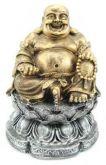 Buda Chinês na Flor de Lotus P