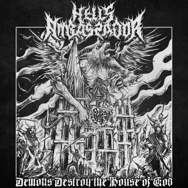 CD Hell's Ambassador - Demons Destroy the House of God