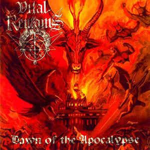 CD Vital Remains – Dawn Of The Apocalypse. Importado