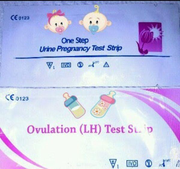 10 testes de ovulação +2 de Gravidez - One Step