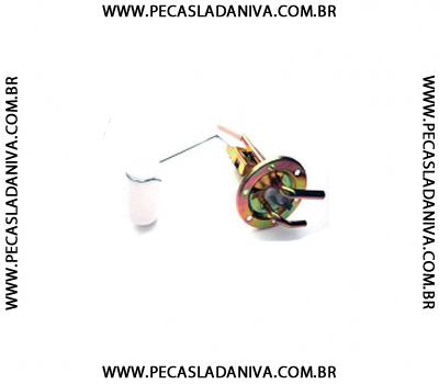Bóia do Tanque ou Medidor de Combustível Niva  Com Luz de Reserva. (Nova) Ref. 0727