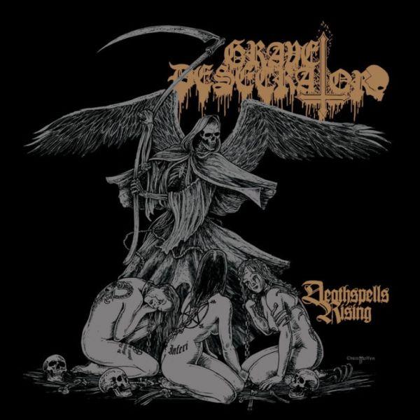 GRAVE DESECRATOR - Deathspells Rising - CD