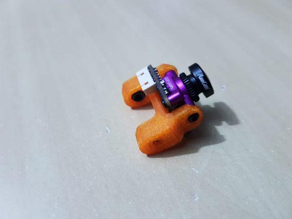 Suporte p/ Micro Câmera FPV (Runcam, Foxeer, HGLRC) em TPU