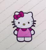Aplique  4 cm - Hello Kitty