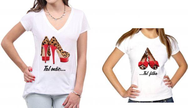 fe7c57e3ce Blusas Femininas Personalizadas Tal Mãe Tal Filha - Ph Art s