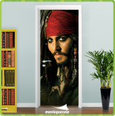 Adesivo Porta -  Piratas do Caribe - porta 417