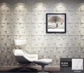 Revestimento Placas Decorativas 3D Board - Fibra de Bambu Original - Rubik