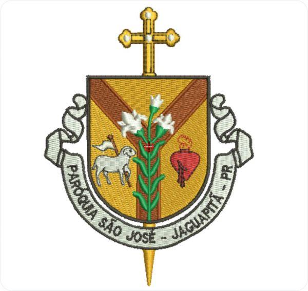 Paroquia Sao Jose Jaguapita Matriz para Bordar