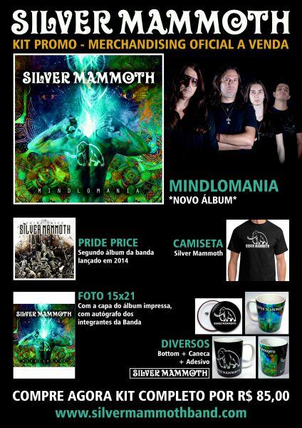 KIT PROMO - CDs, Camiseta, Caneca, Foto 15x21, Adesivo e Bottom