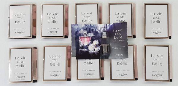 Kit  25 amostras de La vie est Belle   cada 1,2ml total 30ml