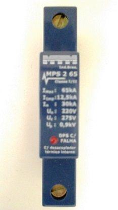 MPS-65-2 Protetor Contra Surtos de Tensão Monofásico 220V 65kA