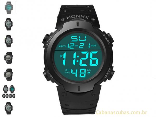70659fab4d3 Relógio Masculino Digital Esportivo - Loja Virtual Cabanascuba