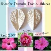 Frisador Papoula, Peônia, Hibisco